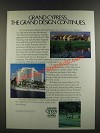 1986 Grand Cypress Resort Ad - The Grand Design Continues