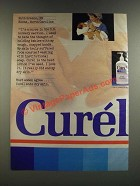 1986 Curel Lotion Ad - Ruth Greene, RN