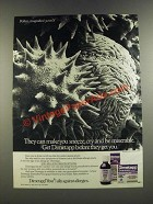 1986 Dimetapp Medicine Ad - They Can Make You Sneeze, Cry and Be Miserable