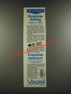 1986 Vagisil Feminine Itching Crme and Feminine Powder Ad