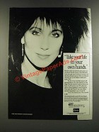 1986 Coors / High Priority Breast Cancer Ad - Cher - Take Life In Your Own Hands