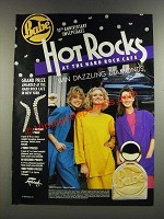 1986 Babe Perfume Ad - Hot Rocks at the Hard Rock CafŽ