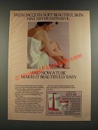 1986 Pacquin Skin Cream Ad - Soft Beautiful Skin Was Never Expensive