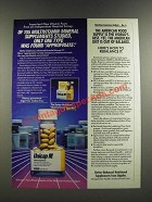 1986 Upjohn Unicap M Ad - The American Food Supply is The World's Best