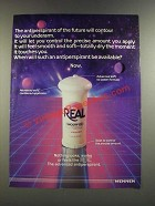 1986 Mennen Real Smooth-On Anti-Perspirant Ad - Of The Future