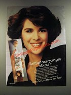 1986 Clairol Loving Care Color Mousse Ad - Don't Just Cover Your Gray