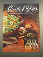 1986 Wish-Bone Dressing Ad - Classic Dijons