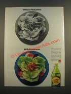 1986 ReaLemon Lemon Juice Ad - Without ReaLemon. With ReaLemon
