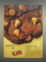 1986 Nestle Peanut Butter Morsels Ad - Chocolate Peanut Butter Chewies recipe