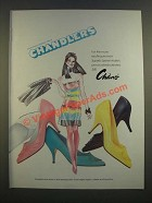 1986 Chandlers Chano Shoes Ad - For The More Exciting Woman