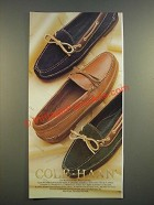 1986 Cole-Haan Canoe Moccasin Ad