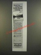 1986 Eddie Bauer Ad - Send For Your Catalog