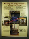 1986 Dovre Ad - Focus & Heirloom Stoves, Eclipse Fireplace, Alliance Fireplace
