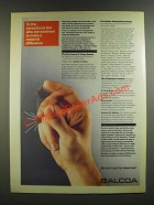 1986 Alcoa Aluminum Ad - Destined to Make a Material Difference