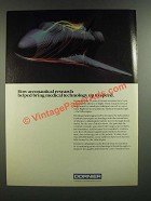 1986 Dornier Lithotripter Ad - Aeronautical Research Helped Medical Technology