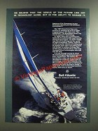 1986 Bell Atlantic Ad - America's Cup Superior Sailing