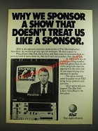1986 AT&T MacNeil/Lehrer NewsHour PBS TV Show Ad - Why We Sponsor