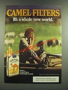 1986 Camel Filters Cigarettes Ad - It's a Whole New World