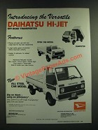 1986 Daihatsu Hi-Jet Ad - The Versatile Off-Road Transporter