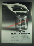 1986 Ford ESP Plus Service Plan Ad - Put a Lid On Repair Costs