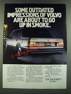 1986 Volvo 760 Turbo Ad - Some Outdated Impressions