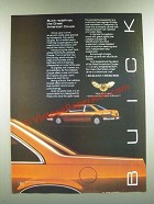 1986 Buick LeSabre Coupe Ad - Redefines the Great American Coupe