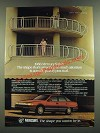 1986 Mercury Sable Ad - The Shape That's Attracting So Much Attention