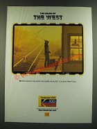 1986 Kodak Kodacolor VR-G Film Ad - The Color of the West