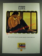 1986 Kodak Kodacolor VR-G Film Ad - The Color of Life