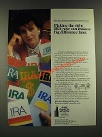 1986 Sears Financial Network Ad - Picking the Right IRA Now