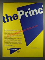 1986 The Principal Financial Group Ad - Put Money Where Financial Professionals