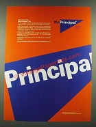 1986 The Principal Financial Group Ad - New Name? Yes. New Company? No.