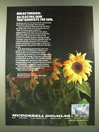 1986 McDonnell Douglas Ad - An Electric Dish That Harvests The Sun