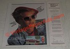 1986 Foster Grant Sunglasses Ad - Anne White - Who's That Winner