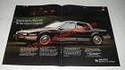 1986 2-pg Cadillac Seville Ad - The New Essence of Elegance