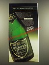 1986 Korbel Natural Champagne Ad - Enjoy a Rare Pleasure