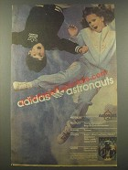1986 Adidas Young Astronauts Boys & Girls Activewear Ad