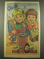 1986 Nestle Quik - M-m-m it's Quik Éthe 1 kids pick