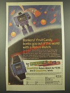1986 Nabisco Bonkers! Candy Ad - Out of This World With a Robot-Watch