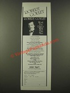 1986 Robert Goulet Ad - Won't You Dance with This Man Album