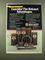 1986 Bekaert Steel Wire Gaucho Barbed Wire and Field Fence Ad