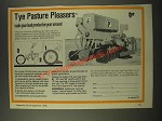 1986 Tye No Till Drill Ad - Pasture Pleasers