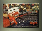 1986 Dirt Devil Ad - A Great Gift For Under The Tree