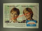 1986 Feen-a-Mint Laxative Pills Ad - Because It's Gentle