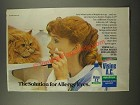 1986 Visinie A.C. Eye Drops Ad - The Solution for Allergy Eyes