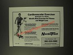 1986 NordicTrack Cardiovascular Exerciser Ad