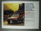 1986 Mercedes-Benz Cars Ad - Stay Longer In Europe On The Money You Save
