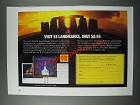 1986 Kodak Photography Ad - Visit 55 Landmarks, Only $8.95