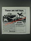 1986 Barnes & Noble Dinosaur Models Ad - These Are Not Toys