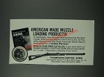 1986 Thompson/Center Arms Ad - American Made Muzzle Loading
